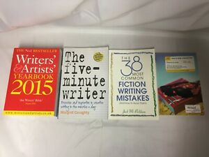4x Writing Help Books The Five-Minute Writer How to Write A Blockbuster