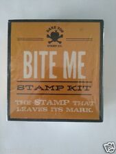 SDCC Comic Con 2014 EXCLUSIVE BITE ME Stamp Kit THE STAMP THAT LEAVES ITS MARK