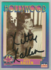 KITTY KALLEN 1991 Starline HOLLYWOOD Walk of Fame Signed AUTOGRAPH