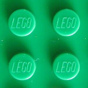 LEGO Plates in Dark Green - Choice New