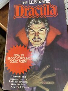 Dracula Lives by Christopher Lee Comic Book Form 1975 illustrated