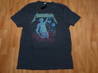 NEU Vintage AMPLIFIED METALLICA And Justice For All Rock Star ViP T-Shirt Gr L