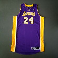 100% Authentic Kobe Bryant Adidas LA Lakers Game Pro Cut Worn Used Issued Jersey