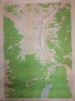 "Stanley Idaho 1963 Quadrangle Topographical Map 27""x22"" OldPaperMaps.com"