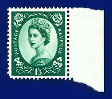 1958 SG585 1s3d Green Wmk MC S144 MNH Unmounted Mint bapb