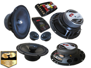 CDT Audio 5.25 150W RMS 2-Way Convertible Component Speakers System CL-51CV