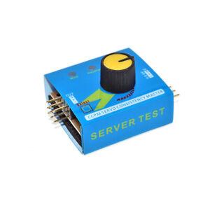 Multi Servo Tester Digital RC 3 Channel Arduino Stepper Motor