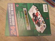 $$c Fascicule Altaya 24h du Mans N°26 Dauer Porsche 962 1994  1965