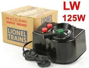 Lionel PW LW Transformer 125W w/Box /244/ 1955-56 Excellent