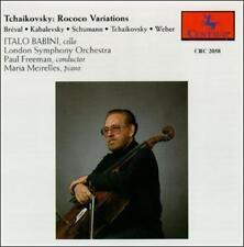 Babini,Italo : Tchaikovsky:Rococo Variations CD
