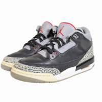 2011 Nike Air Jordan Retro Black Cement 398614-010 Size 7Y Youth
