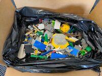 Lego bulk lot 20 lbs Mixed Bricks Parts