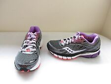 New Women's Saucony Ride 6 Running Athletic Shoe 10200-4 Sz 5 Gry/Purp/Coral 22R