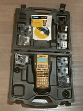 New Listingdymo Rhino 5200 Mega Bundle Industrial Label Maker Kit 5 Lines Dym1756589