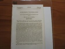 Government Report 1812 War Pension Request by Mrs. Jane Moore #931