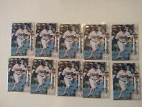 2020 Topps Series 1 Gavin Lux #292 Dodgers Rookie RC 10 card lot PSA ready