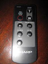 ORIGINAL Sharp G0008TA Camcorder & LCD Projector Remote Control