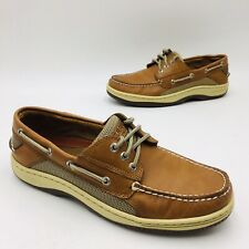 Sperry Top-Sider Men's Intrepid Casual Boat Shoe, Tan Leather Pick a Size