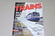 Trains Magazine railroad 2006 December Amtrak, CP Rail, SP Donner pass map, CA