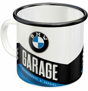 BMW Garage Enamel Mug (na 43216)