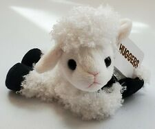 Wild Republic Hugger White and Black Lamb Plush