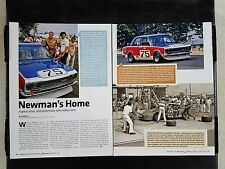 Paul Newman Racing - 4 Page Article - Free Shipping