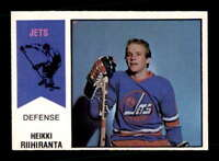 1974 O-Pee-Chee WHA #31 Heikki Riihiranta RC EXMT+ X1510332