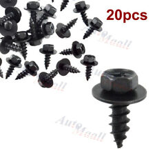 20x Bumper Engine Transmission Splash Shield Cover Rivet Clip Bolt Screw for BMW
