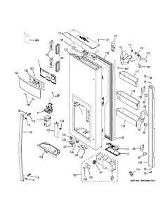 OEM GE Refrigerator DRIP TRAY KCUP ES WR17X26581