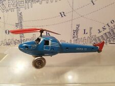 Tin Toy GAMA Wind up Helicopter 15 -Working-