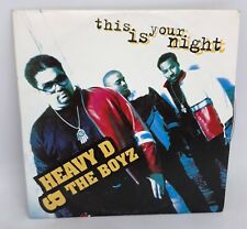 CD SINGLE 2 TITRES--HEAVY D & THE BOYZ--THIS IS YOUR NIGHT--1994