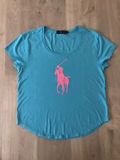 Ralph Lauren Big Pink Pony T-shirt Women Size L