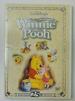 The Many Adventures of Winnie the Pooh  DVD  2002  25th Anniversary Edition