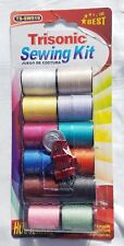 Sewing Kit Polyester Thread multi Colors 12 Spools Yards Embroidery repair Fix