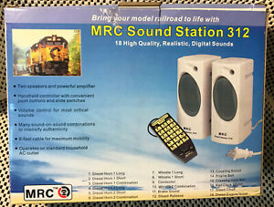 MRC Sound Control Station 312 For Model Railroads 18 High Quality Railroad Sound
