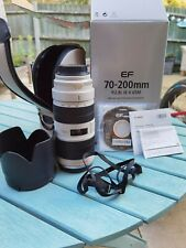 Canon EF 70-200mm MK II F2.8 L IS USM Zoom Lens With Box