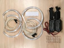 6000K White CCFL Angel Eyes Halo Ring DRL Kit For E83 BMW X3 04-10