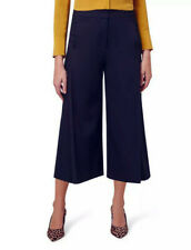 NEW Ladies HOBBS Vita navy blue culottes cropped trousers UK 16 EU 44 RRP £110