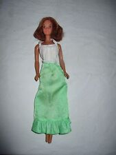 VINTAGE BARBIE QUICK CURL KELLEY head on Malibu Body