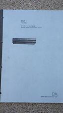 Bang & Olufsen   B&O   DVD1 Service and Repair Manual           L