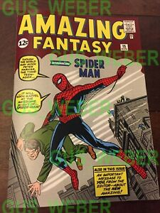 AMAZING FANTASY #15 reproduction 1962 not a reprint! FULL COMIC first spider man