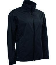 Abacus Golf Ladies Kingston Waterproof Stretch Dry Black Jacket XL UK 16