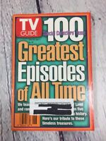 Vtg 1997 June 28 - July 4 TV Guide - 100 Greatest Episodes of All Time on Cover