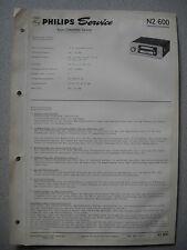 Philips N2600 Service Manual Ausgabe 01/68