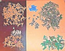 Plastic ARMY MEN / Various Styles & Colors / Toy / Lot of 200 +