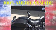 Kawasaki 2000 Vulcan or Vulcan LT Motorcycle Driver Backrest  Quick Release