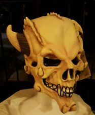 NW VINTAGE DEMON SKULL MASK  Latex Prop by MASK Illusions  Rubies  #67008
