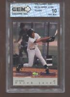 Derek Jeter RC 1992 Classic Best New York Yankees HOF Rookie GEM MINT 10