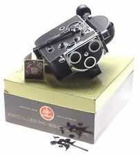 H8 BOLEX vintage movie 8mm film camera body boxed working order used condition