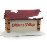 Dept 56 Dickens Village Sign